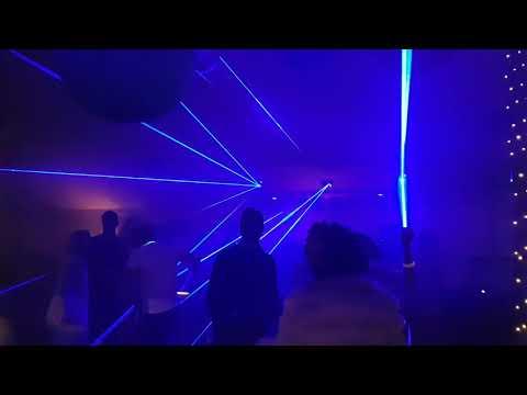 SLS Entertainments Club Laser Lighting