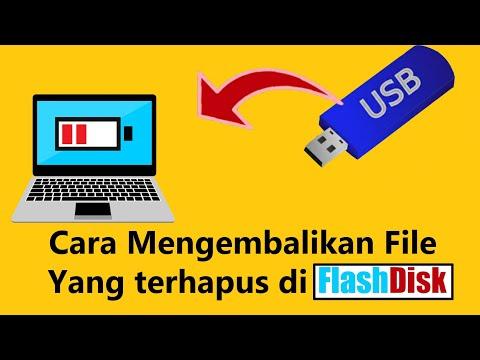 Video tutorial tentang cara mengembalikan (recovery) file yang terhapus atau flasdisk/SDCard yang te.