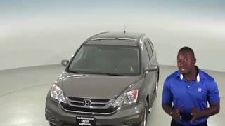 A96824GT - Used, 2010, Honda CR-V, EX-L, AWD, Gray, Test Drive, Review, For Sale -