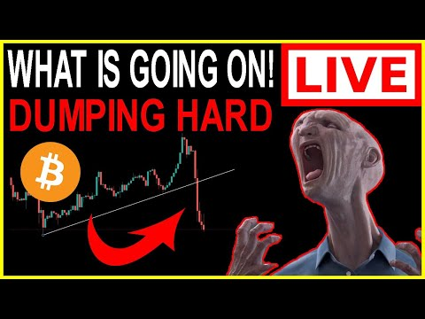 😱CRAZYNESS!!!🚨BITCOIN WHAT ARE YOU DOING! - BTC Crypto Live Trading, Technical Analysis \u0026 News