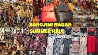 Summer fashion haul from Sarojini Nagar Market New Delhi