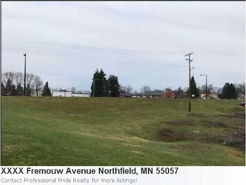 Sensational 1.30 Acre Lot In Northfield, Mn Is Listed At Just $199,900