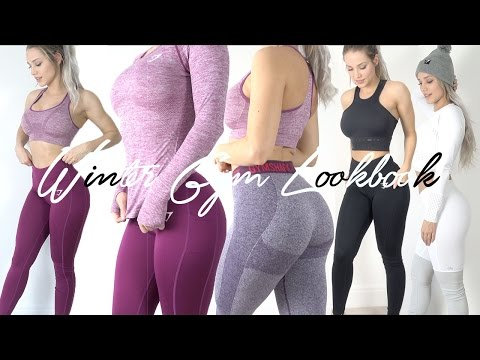 WINTER GYM LOOKBOOK | Gymshark, Lululemon, Nike, Adidas HONEST REVIEW