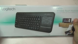 Video Logitech K400 Wireless Keyboard with Trackpad Unboxing download MP3, MP4, WEBM, AVI, FLV April 2018