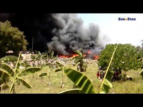 Fire hits Sitio Pungsod, Lawaan III, Talisay City