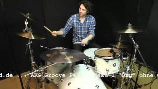 AKG Groove Pack - Drum Mikrofon Koffer - Test - Teil 1 - www.drumxound.de
