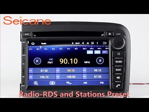 1998-2006 VOLVO S80 aftermarket radio gps navigation system with dvd player  3G WIFI Touch Screen