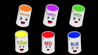 Primary Colors Song for Kids/Secondary Colors Song for Kids