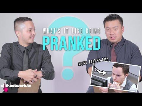 What's It Like Being Pranked? (EPIC MIND-READING PRANK!) - Wonder Boys: EP24