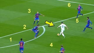 Cristiano Ronaldo DESTROYING Barcelona - Skills, Dribbles, Goals