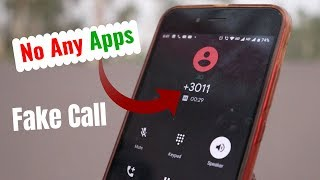 Fake Call Kaise Kare without Apps - Call anyone with private number in iphone or Android