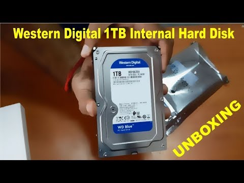 Western Digital 1TB Internal Hard Drive Unboxing Tamil / First look & Review For Gaming/