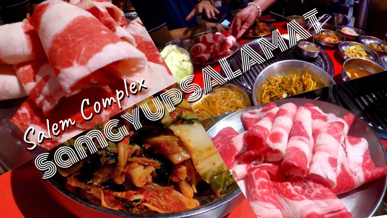 Samgyupsalamat Salem Complex | Happy 2000 Subscribers Dinner Celebration !!!