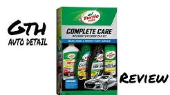 Turtle wax complete care kit review
