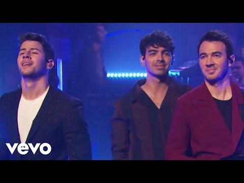 Jonas Brothers - Jonas Brothers Only Human (Live On Late Night With Seth Meyers / 2019)