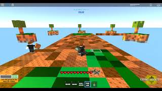 WORLD RECORD IN ROBLOX SKYWARS!! (LARGEST ISLAND EVER!)