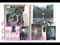 Fashion Design Research book/ Sketchbook