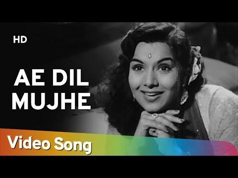 Ae Dil Mujhe Bata De | Bhai Bhai (1956) | Ashok Kumar | Shyama | Geeta Dutt Song