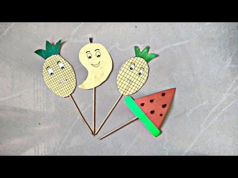 ||DIY|| Summer Themed Party Decoration Idea || How to make Fruit Sticks || Cute Decorative Idea ||