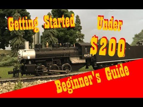 Build a Model Railroad for Under $200! | Starting a Model Railroad HO Model Trains