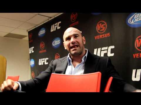 Dana White On Spike Counterprogramming, UFC On Fox Plans