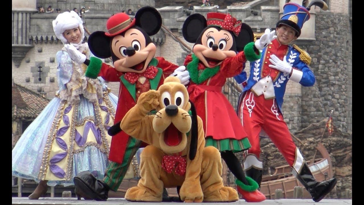 ºoº [ ミッキー広場 ] ディズニー・パーフェクト・クリスマス 2017