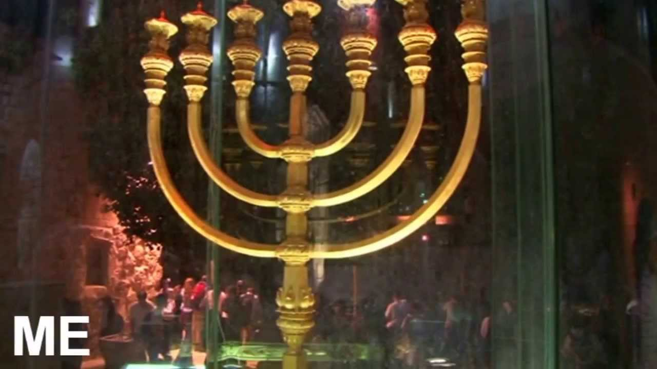 The Golden Lampstand Model Of The Temple Pure Gold Youtube