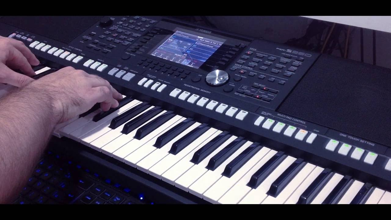 audio link yamaha psr s950 s750 youtube. Black Bedroom Furniture Sets. Home Design Ideas