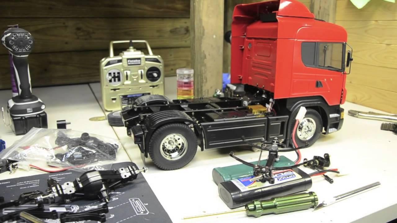 Tamiya Scania R470 Discussion 8x4 Tipper Truck - YouTube
