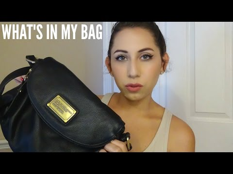 What's In My Bag  Marc Jacobs Classic Natasha Q