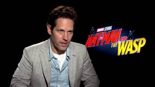 The Cast of Ant Man and the Wasp Talk About the Film