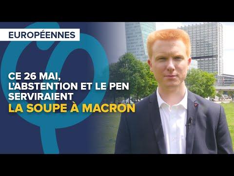 Ce 26 mai, l'abstention et Le Pen serviraient la soupe à Macron | Adrien Quatennens