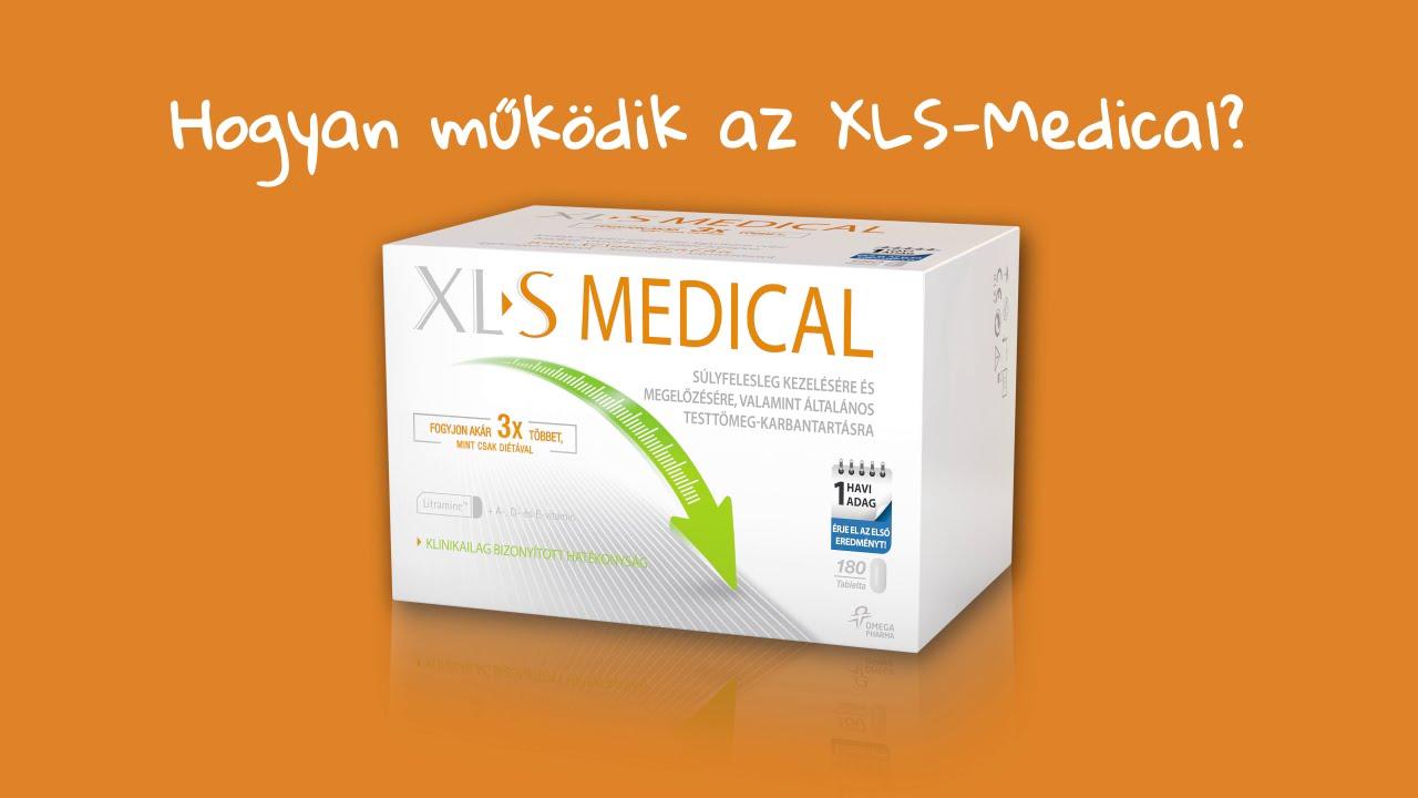XL-S Medical zsírmegkötő tabletta 180db