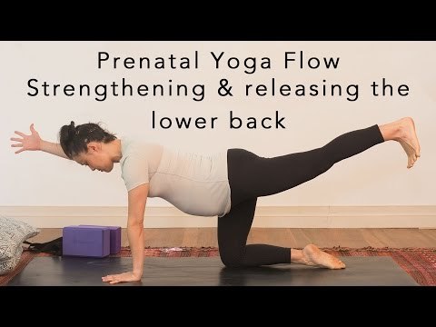 Prenatal Yoga Flow - lower back 30min