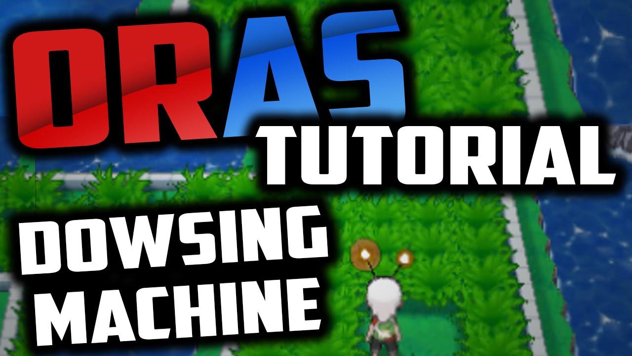 how to use dowsing machine