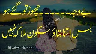 2 lines sad urdu poetry2 line shayariadeel hassan2 line heart touching poetry2 line sad shayari