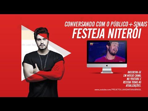 Luan Santana - Conversando com o públicoSinais - Festeja Niterói Multishow 0309