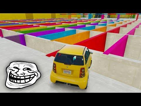 CARRERA SUPER TROLL!! SUELO INVISIBLE!! - CARRERA GTA V ONLINE - GTA 5 ONLINE