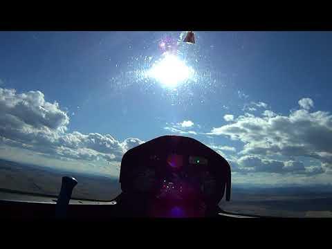 First Glider Flight at Cu Nim Airport, Black Diamond Alberta.