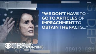 Democrats divided as Trump impeachment talks reach full boil