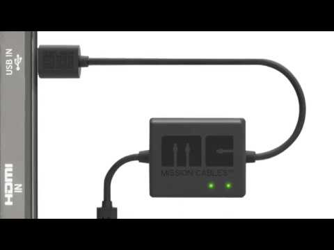 Mission Power USB Cable for Fire TV Stick