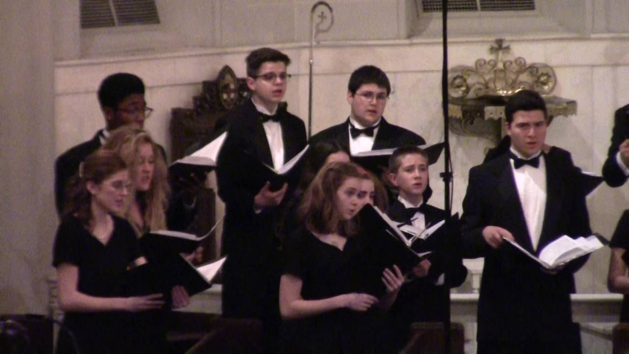 Flower Of Beauty By John Clements Lhs Choir Youtube