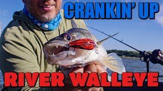 Cranking Up River Walleye in South Dakota
