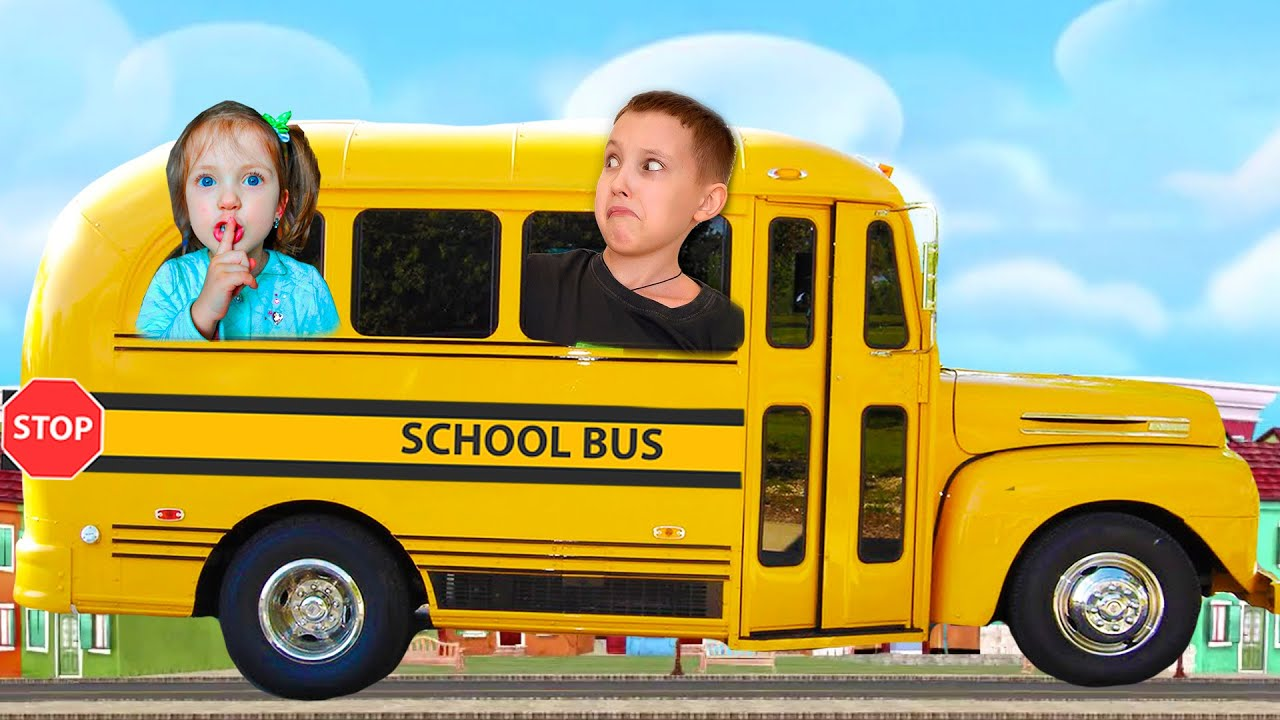 Wheels On The Bus Song Nursery Rhymes | We are in the Car Kids Songs by Ksysha Kids