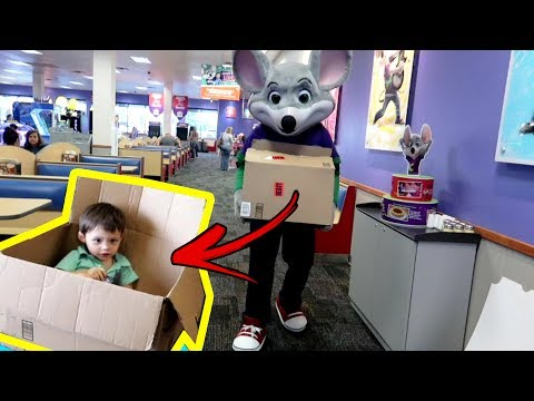 I Shipped Eli to Chuck E Cheese and It worked