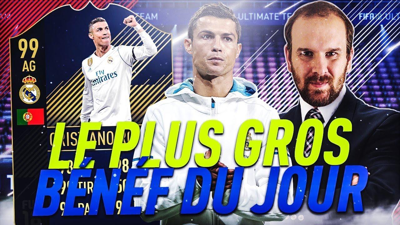 FIFA 18 - GAGNER + DE 200 000 CREDITS SUR UNE SEULE CARTE !!!