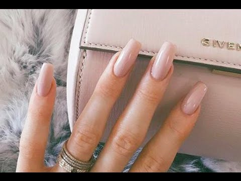 KYLIE JENNER NAILS HOME DIY LONG