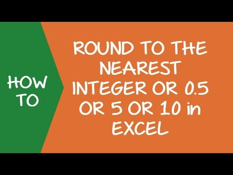 How to Round to the Nearest Integer or Multiple of 0 5 / 5
