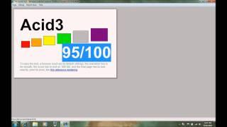 IE9 Platform Preview 4 Acid 3