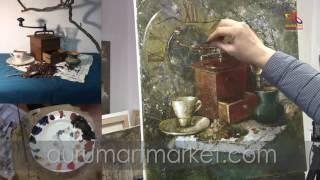 Презентация видео урока живописи Разговор со временем